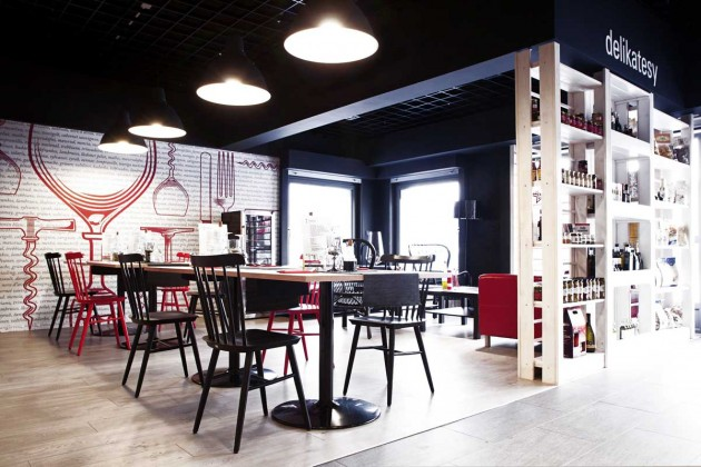 fiesta del vino un bar vin design mon sommelier. Black Bedroom Furniture Sets. Home Design Ideas